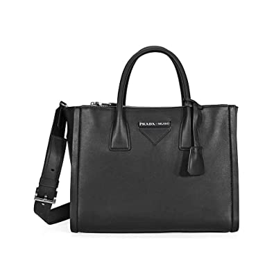 b2819ef05ac21e Image Unavailable. Image not available for. Color: Prada Concept Medium  Leather Crossbody - Black