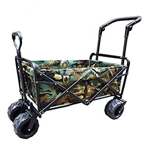 10. Collapsible Heavy-Duty Utility Wagon by Meilinxu