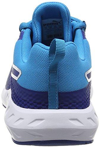 Puma true Blue 2 01 Jr Mixte Enfant Basses Sneakers Blue Bleu Flare true fafHrzqwS8