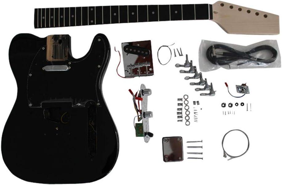 GD6603 Coban Guitars Cuerpo De Fresno Guitarra Eléctrica Kit ...