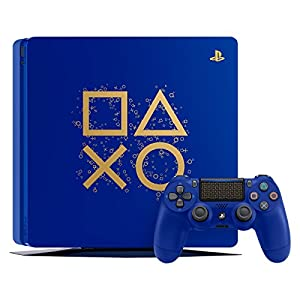 Best Epic Trends 515iktVW3IL._SS300_ PlayStation 4 Slim 1TB Limited Edition Console - Days of Play Bundle [Discontinued]