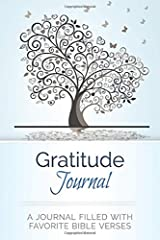 Gratitude Journal: A Journal Filled With Favorite Bible Verses (KJV) Journal