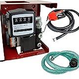 Diesel Biodiesel Kerosene Transfer Fuel Pump Meter Automatic Fueling Nozzle 110V