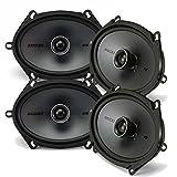 6x8 car door speakers - Kicker Speaker Bundle - Two pairs of Kicker 6x8 Inch KS-Series Speakers 41KSC684