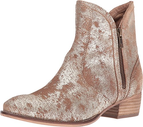 Seychelles Women's Lucky Penny Gold Distressed Boot