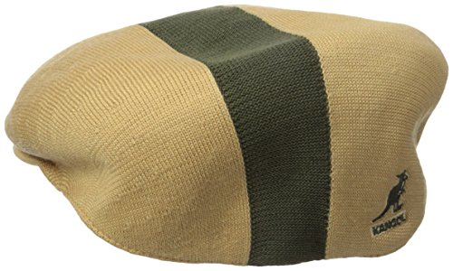 Mens Kangol Path Stripe 504 Color Biscuit