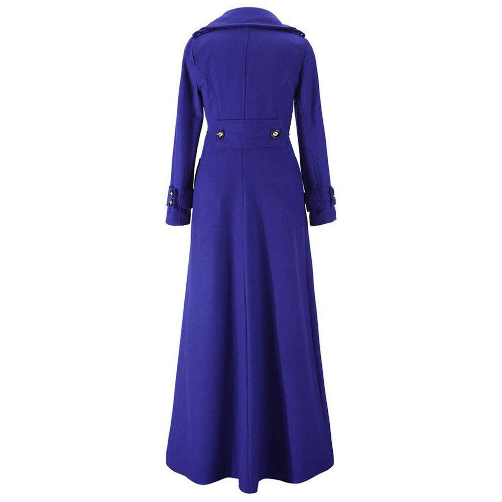 Denim Jacket for Women Plus Size Chain Back,Womens Winter Lapel Slim Coat Trench Jacket Long Parka Overcoat Outwear