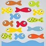 GelGems School of Fish Small Bag Gel Clings