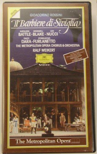 Rossini - Il barbiere di Seviglia (The Barber of Seville) / Ralf Weikert, The Metropolitan Opera - Mall Shops Hamilton