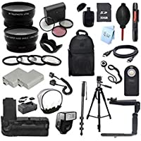 Canon EOS Rebel XSi / 450D Digital SLR Camera Everything You Need Accessory Kit