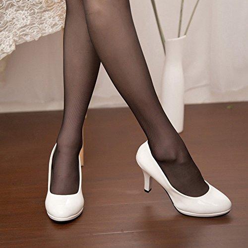 Sangle gongzhumm Chaussures La Talons Mariage Pas Pointé Femmes De Talon Boucle Cher Ete Ont Les Blanc cTlFJ1K3