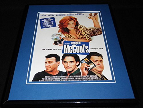 One Night at McCool's 2001 Framed 11x14 ORIGINAL Vintage Advertisement Liv Tyler