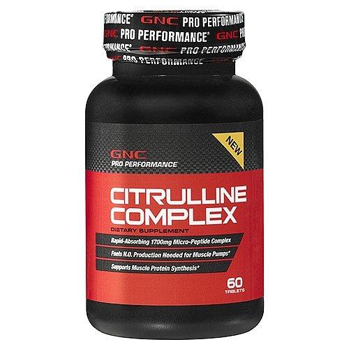 GNC Pro Performance Citrulline complexe - 60 comprimés