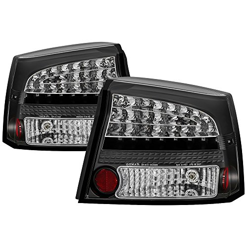Spyder Auto Dodge Charger 05-08 LED Tail Light,Black