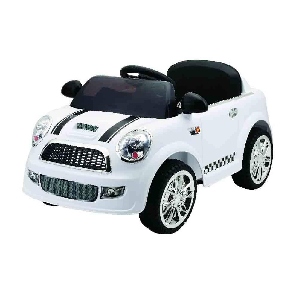Kids Ride On Car Electric Car Remote Control Model S6088 White Price