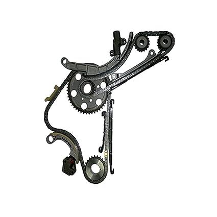 Amazon.com: AutoRexx Timing Chain Kit Fits Nissan Cabstar Navara 2.5 TD YD25DDTI 4CYL. DOHC 2006-2010: Automotive