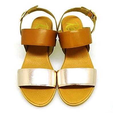 Mujer esY Quincy 39Amazon Sandalias Zapatos Cuero Ravel PyvmNnO80w