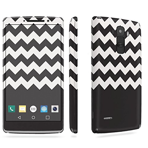 LG [G Stylo] Phone Skin - [SkinGuardz] Full Body Scratch Proof Vinyl Decal Sticker with [WallPaper] - [Black White Chevron] for LG [G Stylo] [LS770 H631] -  SkinGuardz for LG G Stylo, SF-LGLS770-T5-MA-X451