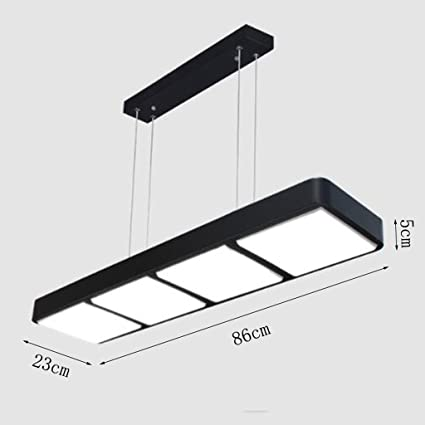 Luz de Techo IAIZI Tira LED Lámparas de Oficina Derecha ...