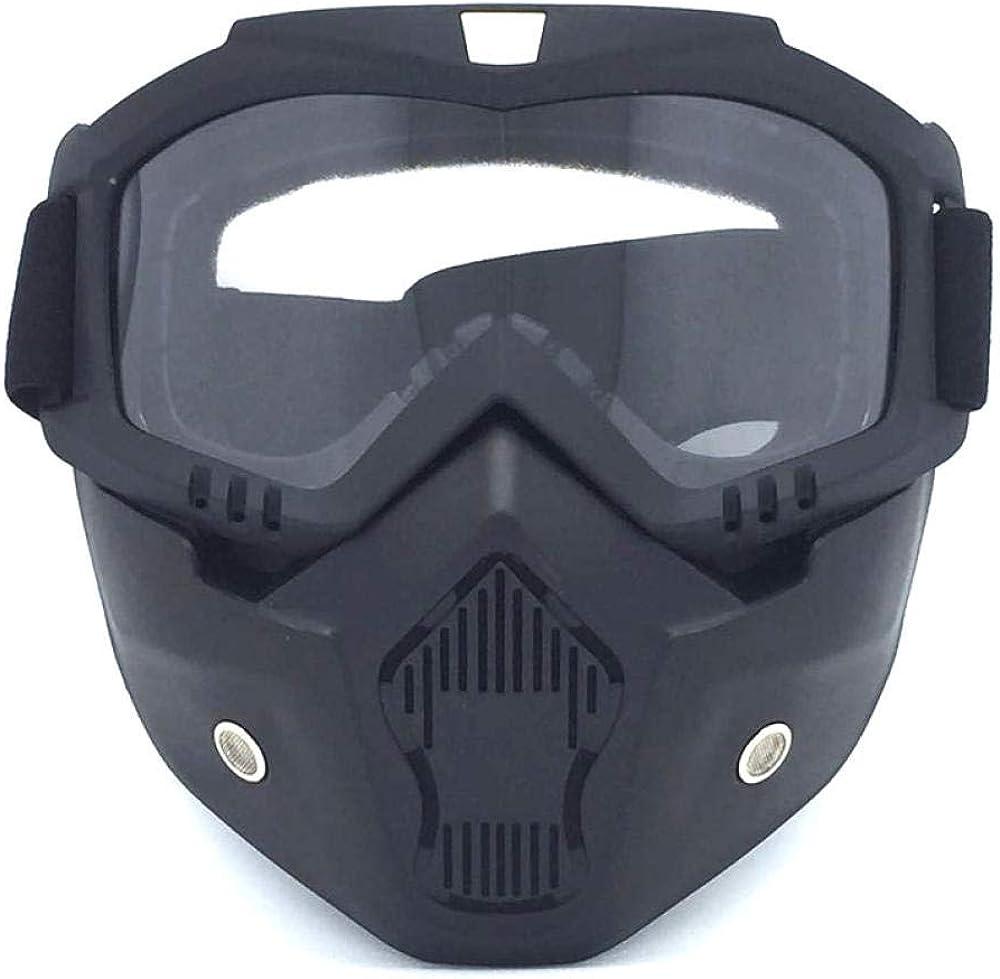 Gafas De Esqui Fotocromáticacascos Modulares Máscara FacialGafas De Sol Desmontables Y Protector De Filtro Bucal - Deportes De Invierno Deportes De Nieve Esquí Snowboa