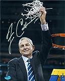 Jim Calhoun Signed Photo - 8x10 U Conn Basketball Championship Image #SC21 - Autographed College Photos
