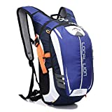 LOCALLION Cycling Backpack Riding Backpack Bike Rucksack Outdoor Sports Daypack for Running Hiking Camping Travelling Ultralight Men Women 18L (type2)