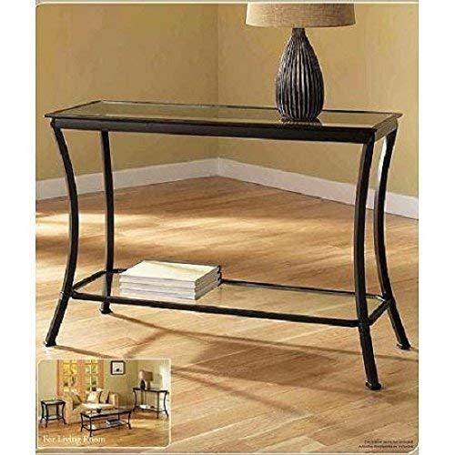 Z-Line Designs Massadona Console Table, dark bronze Bronze Living Room Sofa Table