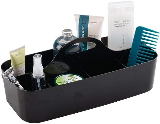 Divided Basket Bin mDesign Makeup Storage Organizer Caddy Tote X-Large