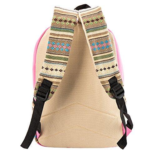 Librao - Bolso mochila  para mujer Rosa