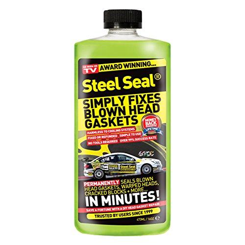 Steel Seal Blown Cylinder Head Gasket Fix Repair Sealer (Lifetime...