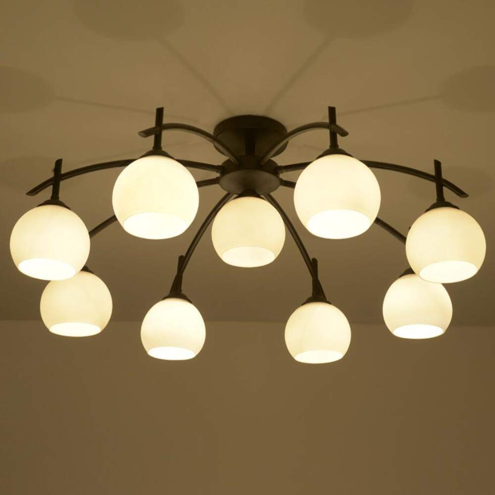 Joypeach Rustic Style LED Flush Mount Ceiling Lights Creative Living ...