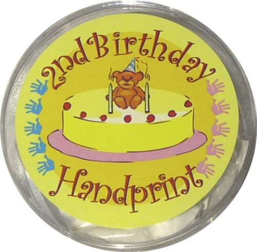 Second Birthday Handprint Kit