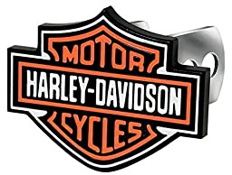 Harley-Davidson Hitch Cover B&S Full Color