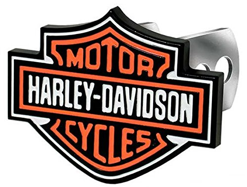Harley-Davidson PlastiColor 2216 Full Color Hitch Cover (Harley Davidson Hitch Cover)