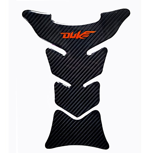 Carbon Fiber Ktm - Motorcycle Sticker Accessories 8.8 inches Real Carbon Fiber Fuel Gas Tank Protector Pad For KTM DUKE 125 / 200 / 250 / 390 / 690