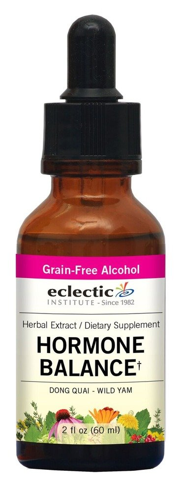 Hormone Balance (formerly Dong Quai - Wild Yam) Extract Eclectic Institute 2 oz Liquid