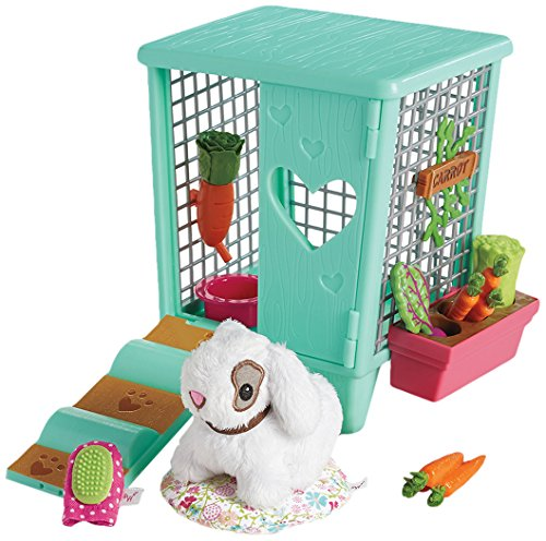American Girl Welliewishers Carrot's Hutch Doll Accessories