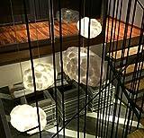 DLUF LED Floating White Cloud Chandelier Hotel Lobby Club Decorative Light Art Silk Creative Light , diameter-40cm