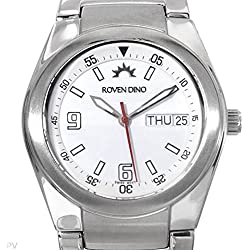 Roven Dino Swiss Mens Commander Watch Stainless Steel 6010MSS25