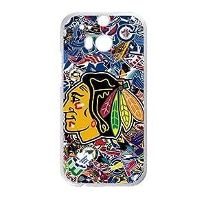 JIANADA Chicago blackhawks Phone Case for HTC One M8