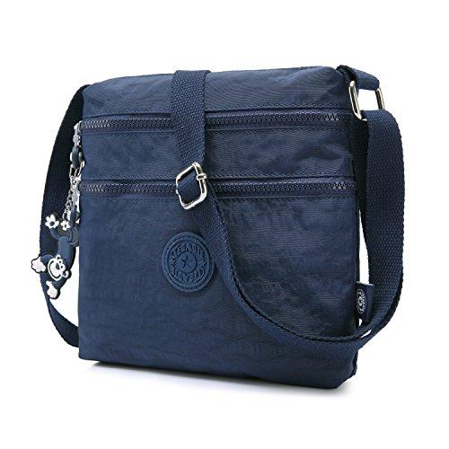 Crossbody Pack Bag Travel Side for Blue Girls Foino Messenger Body Sport Satchel Shoulder Casual Women Fashion Bag Cross Bag YqHYZRWTa