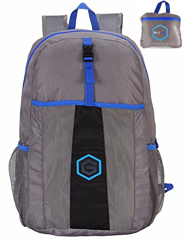 Top Ultra Lightweight Packable Backpack - Water Resistant Foldable Daypack Perfect for Travel, Hiking, Camping Outdoor for Men and Women