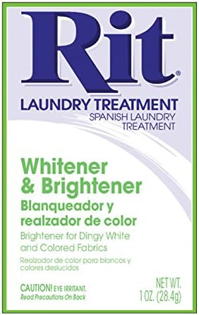 Nakoma Products 0340197 Rit Dye Powder-Whitener & Brightener Each