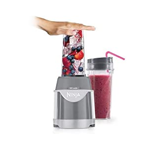Ninja Professional 600W Smoothie Mixer Single Serve Pulse Blender System | BL100