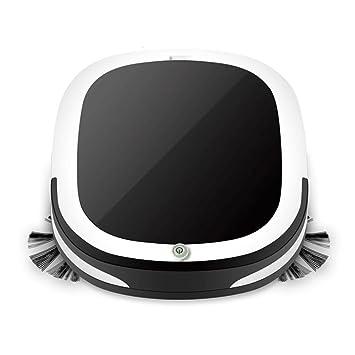 Robot Aspirador, Sistema de Limpieza de Alto Rendimiento con reconocimiento Suciedad, Adecuado para Suelos y alfombras, Ideal para Mascotas Pelo, ...