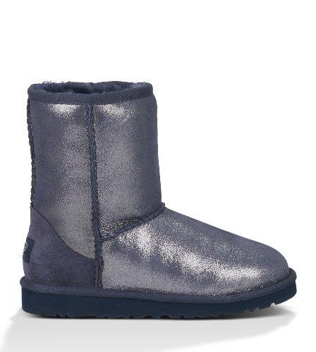 UGG Unisex 1000792Y Classic Glitter Boots Big Kids Style, Mid Night, 5 ()