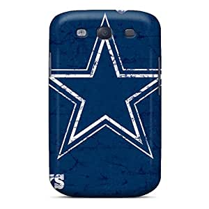 Samsung Galaxy S3 WZo1549maBH Customized Lifelike Dallas Cowboys Image Bumper Cell-phone Hard Cover -JasonPelletier
