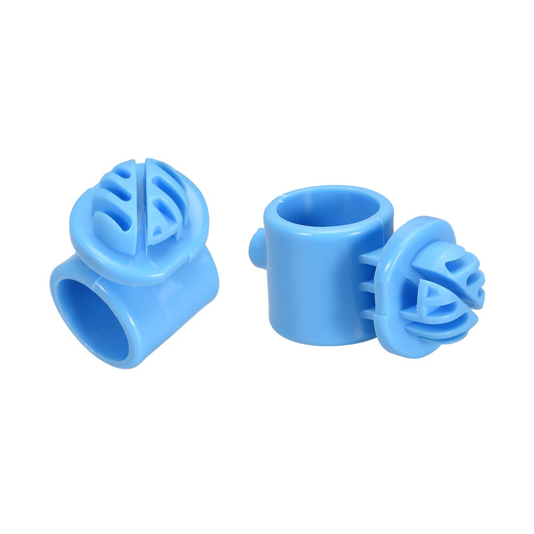 uxcell 20pcs Ring Insulator Wood Post Polyrope Insulator for Electric Fence Wire Blue by uxcell