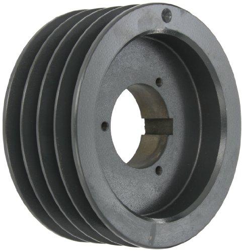 Browning 4B5V70 Split Taper Sheave, Cast Iron, 4 Groove, A, B or 5V Belt, Uses B Bushing -