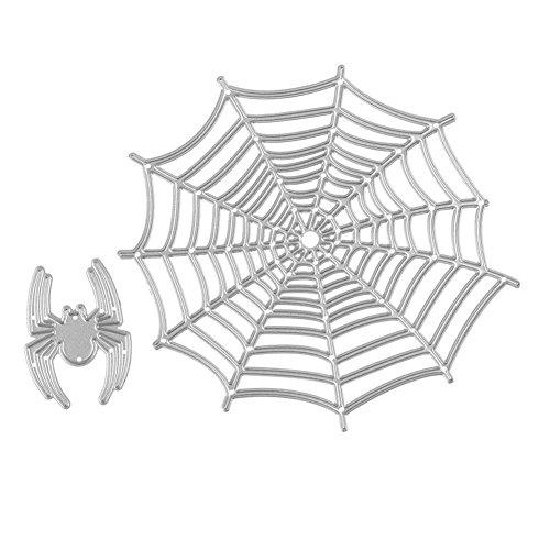 Metal Cutting Dies for DIY Scrapbooking Photo Album Decorative Embossing Folder Stencil (Spider))